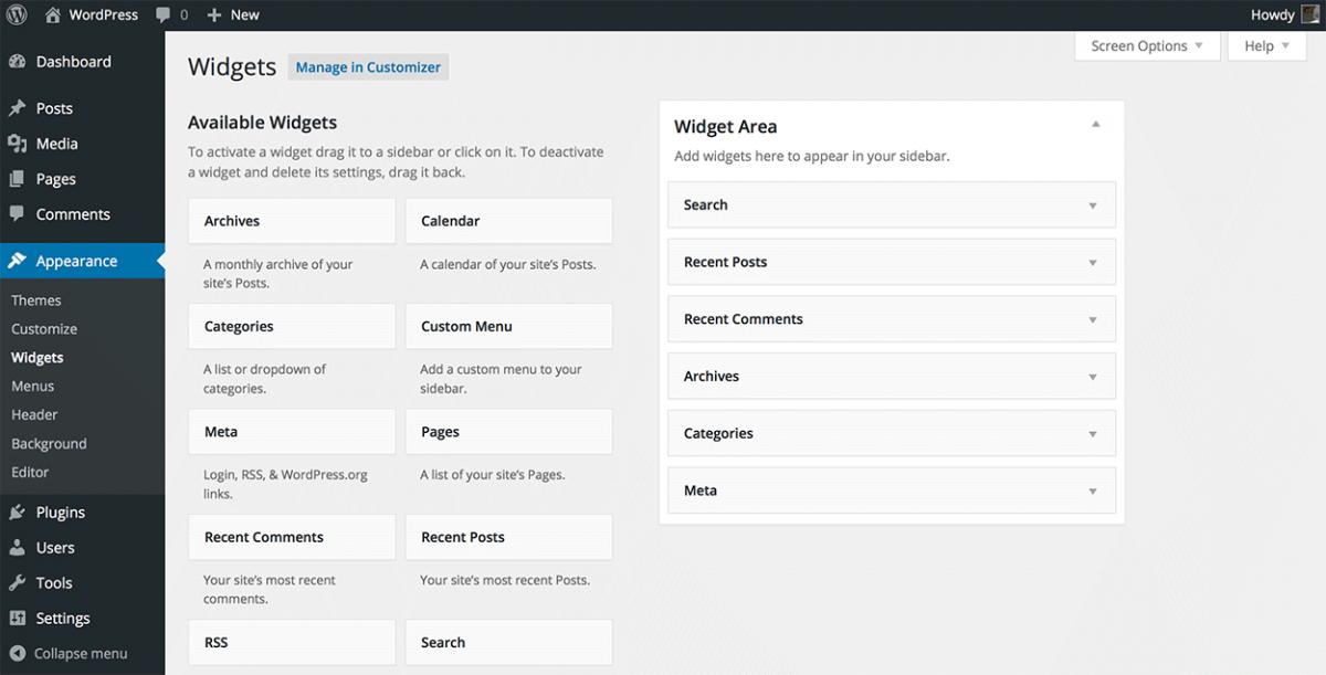Mejores widgets Wordpress